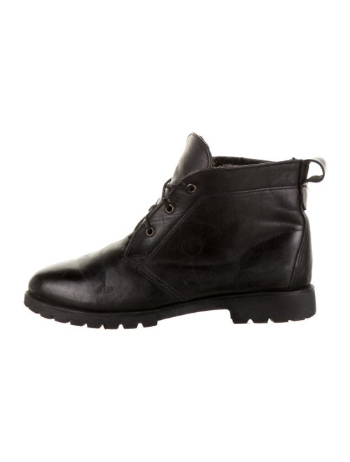 Timberland Leather Boots Black