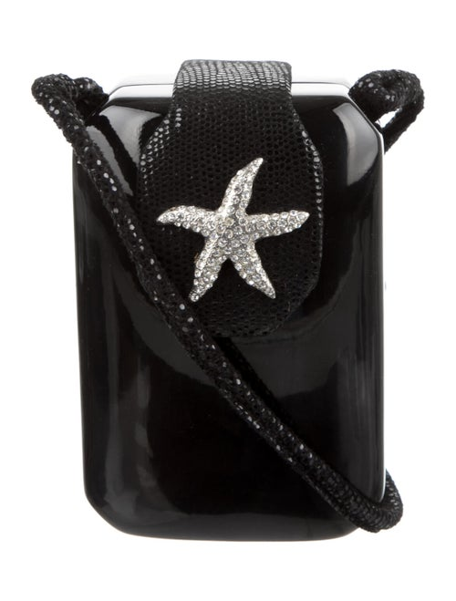 Timmy Woods Embellished Evening Bag Black