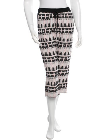 Thakoon Addition Printed Culottes None