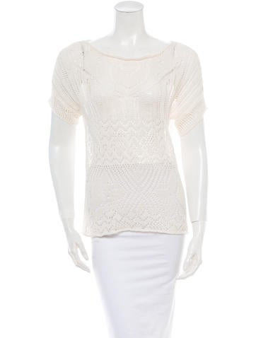 Thakoon Addition Crochet Sweater None