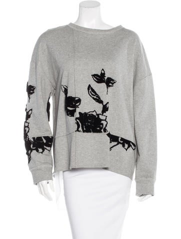 Thakoon Addition Jacquard Long Sleeve Top None