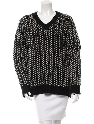Thakoon Addition Wool Oversize Sweater None