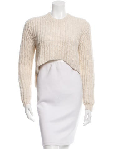 Thakoon Addition High-Low Crew Neck Sweater None