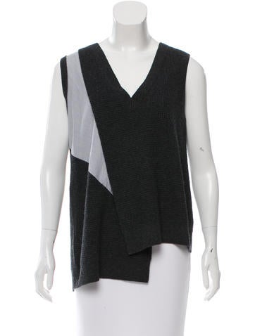 Thakoon Addition Wool Sleeveless Sweater None