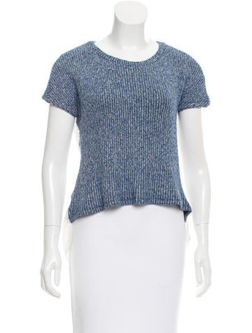 Thakoon Addition Embroidered Rib Knit Top None