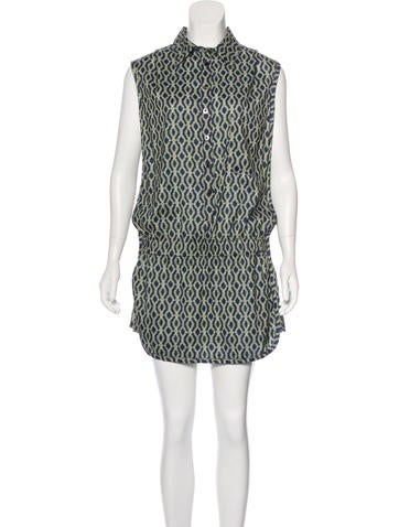Thakoon Addition Printed Skort Romper None