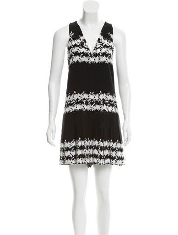 Thakoon Addition Printed Silk Romper None