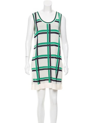 Thakoon Addition Patterned Knit Tunic None