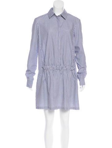 Thakoon Addition Striped Shift Dress None