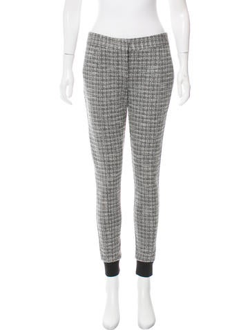 Thakoon Addition Mid-Rise Knit Pants w/ Tags None