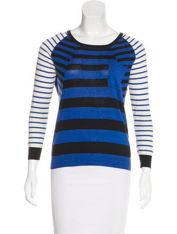 Thakoon Addition Long Sleeve Striped Top None