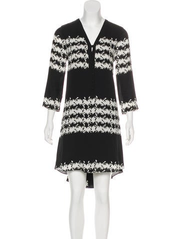 Thakoon Addition Silk Midi Dress None