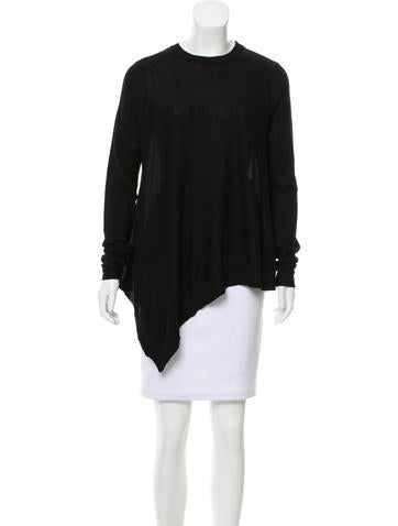 Thakoon Addition Layered Wool Top None