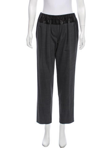 Thakoon Addition Mid-Rise Pants None