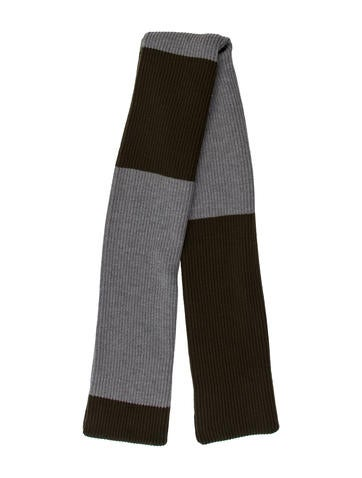 Timothy Everest Colorblock Rib Knit Scarf None