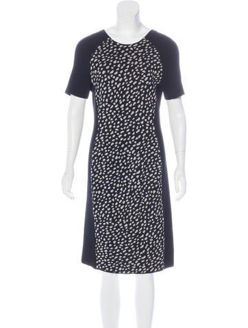 Tory Burch Wool Knee-Length Dress None