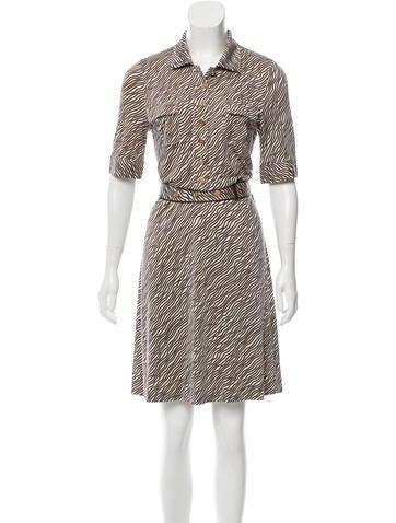 Tory Burch Printed Knee-Length Dress None