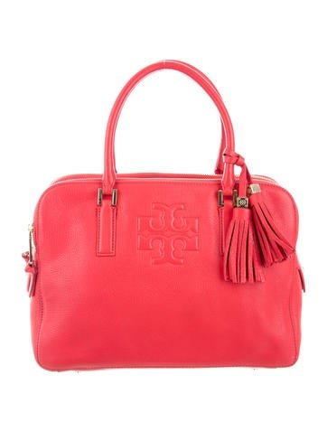 Tory Burch Grained Leather Tote None