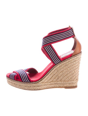 Tory Burch Adonis Wedge Sandals None