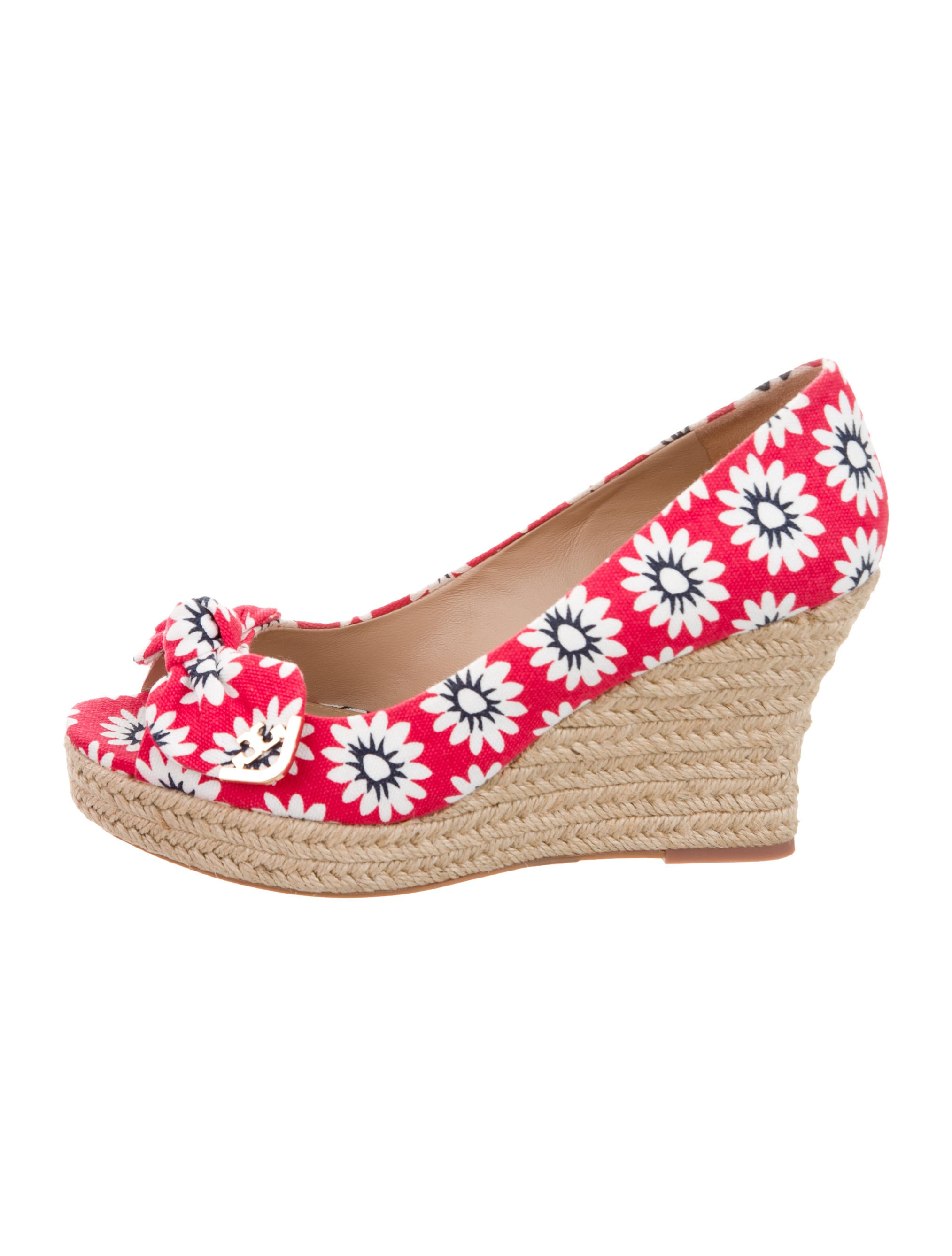8b91c2cda27a Tory Burch Dory Espadrille Wedges w  Tags - Shoes - WTO102143