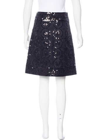 burch sequin a line skirt clothing wto102513