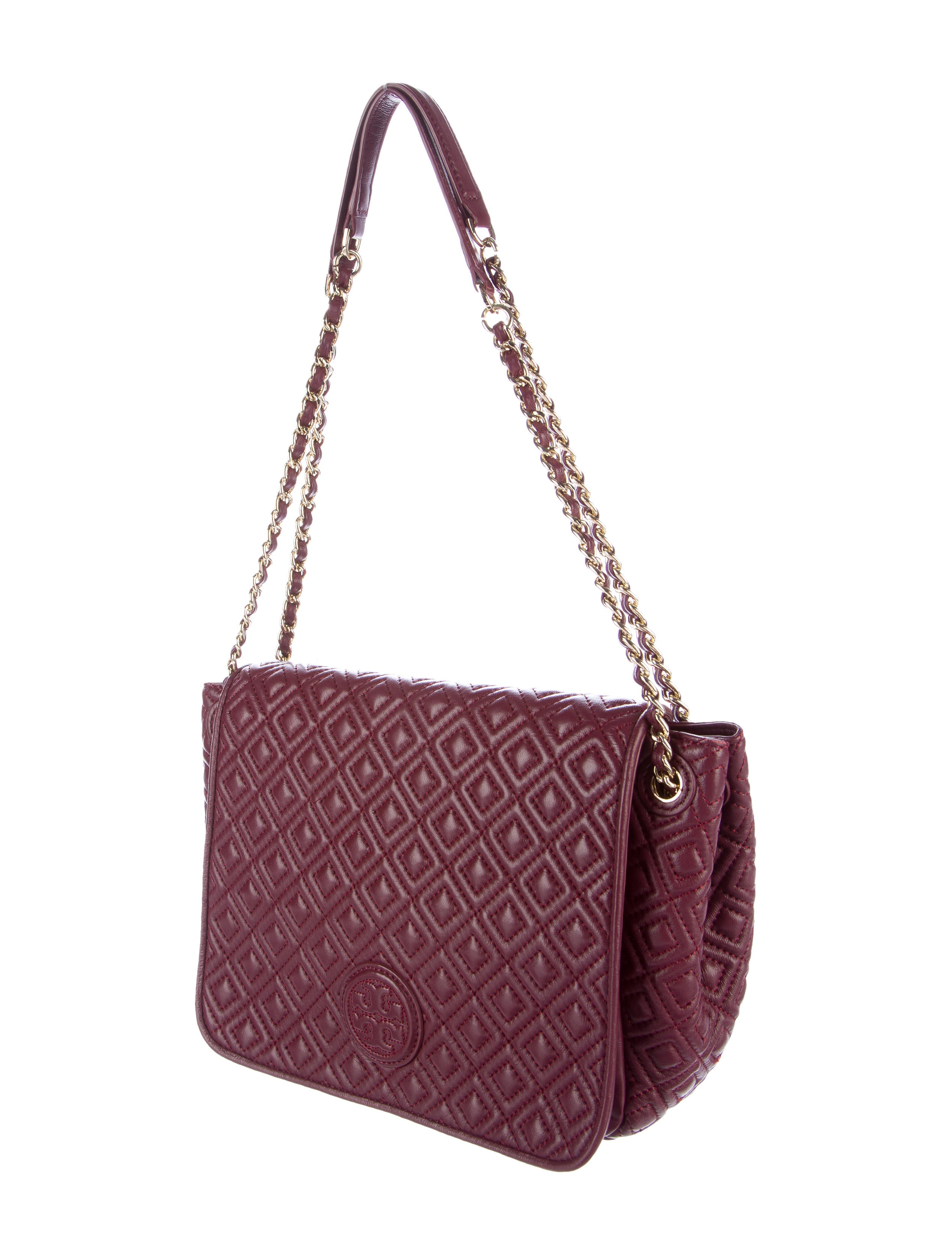Tory Burch Marion Quilted Small Flap Shoulder Bag Handbags