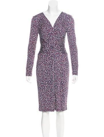 Tory Burch Silk Printed Dress w/ Tags None