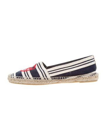 Tory Burch Carita Striped Espadrilles None