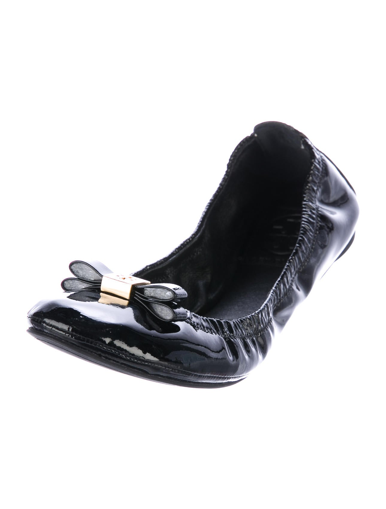 burch eddie patent leather flats shoes wto106652