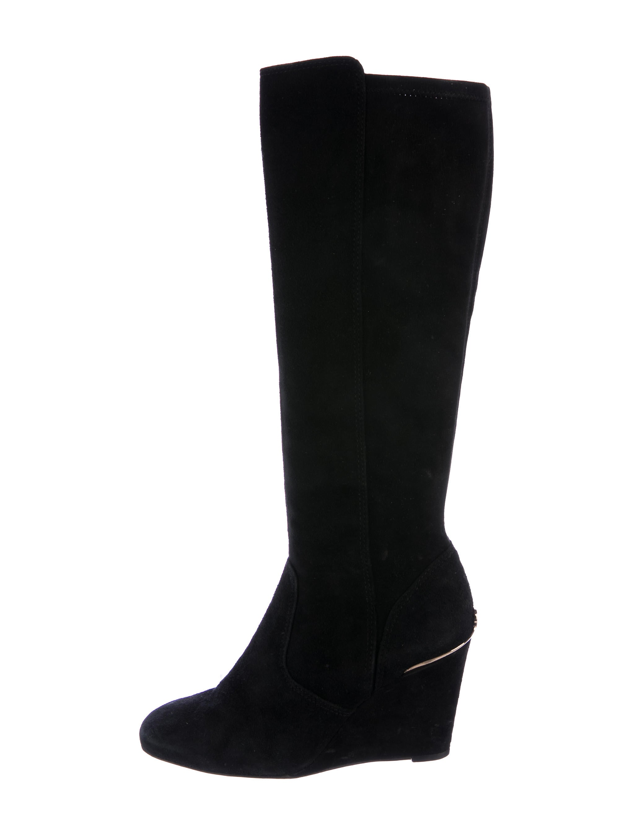 burch suede knee high boots shoes wto106667 the