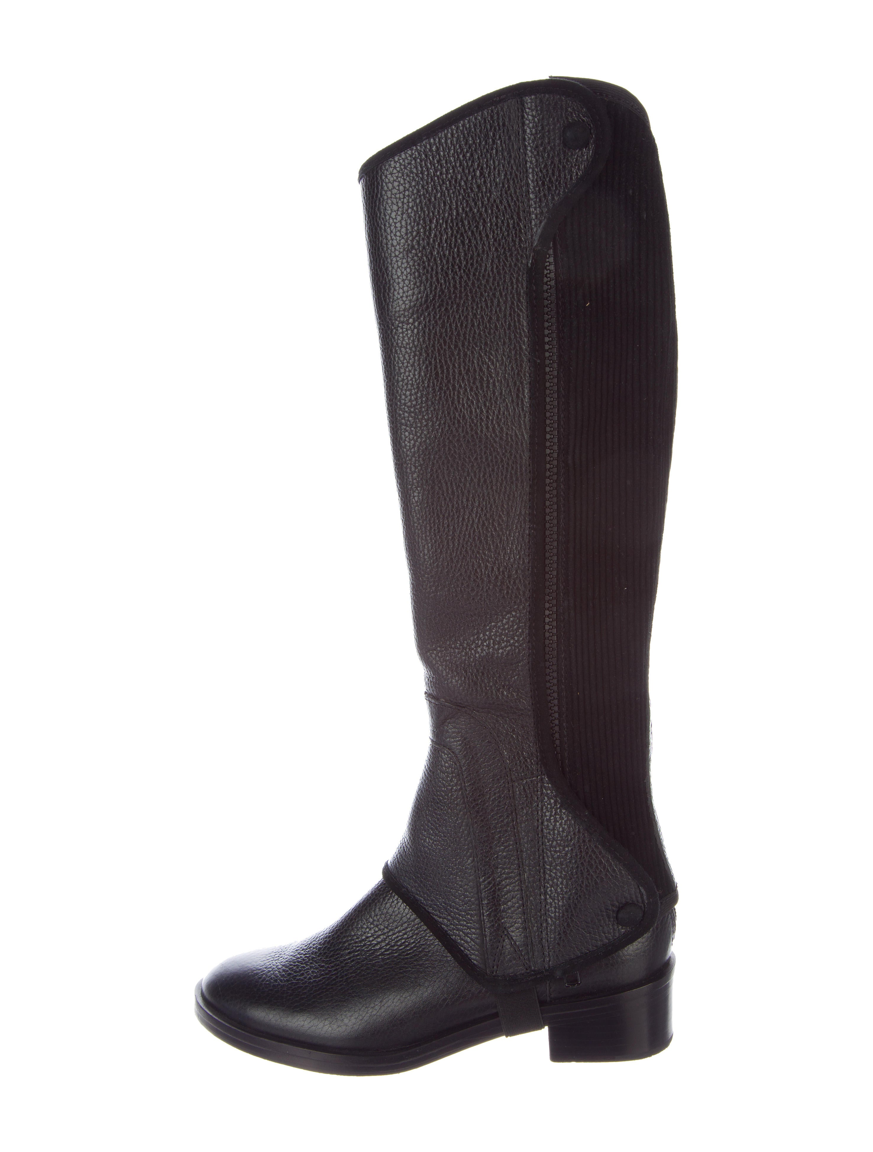 6a6d27def927 Tory Burch Milburn Convertible Riding Boots - Shoes - WTO106737 ...