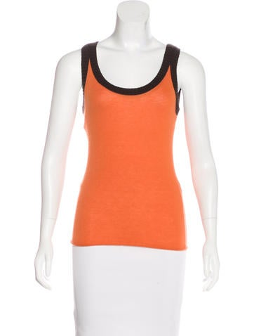 Tory Burch Cashmere Sleeveless Top w/ Tags None