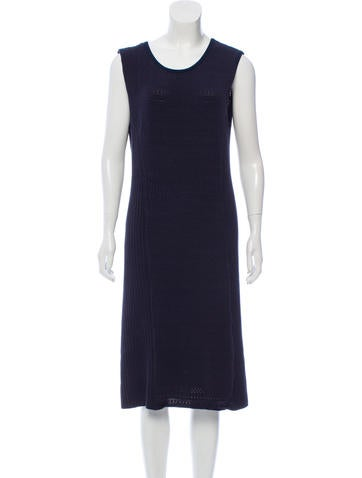 Tory Burch Sleeveless Sweater Dress None