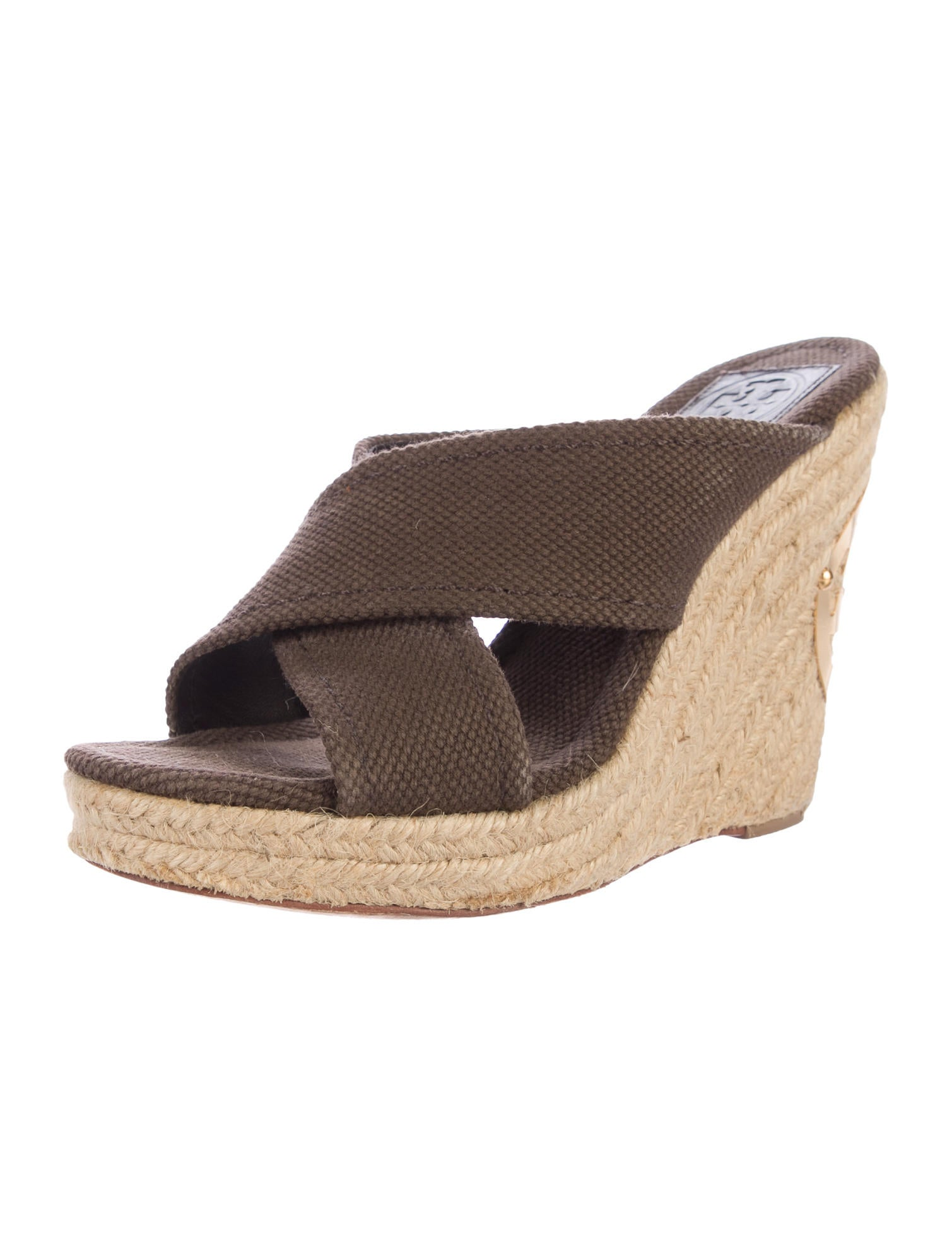 Tory Burch Espadrille Wedge Sandals - Shoes - WTO108175 ...