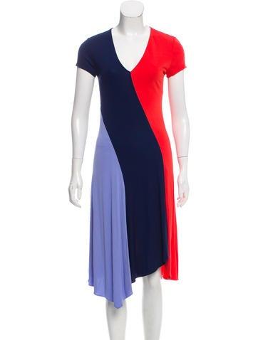 Tory Burch Knit Colorblock Dress w/ Tags None
