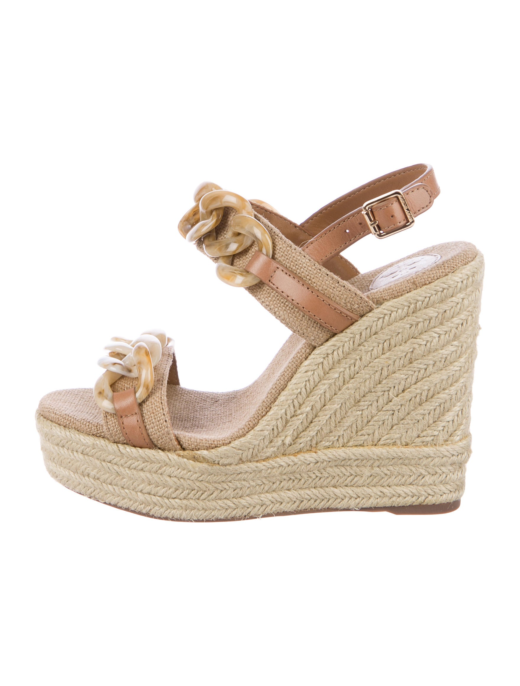 9d74957fcf422 Tory Burch Alta Espadrille Wedges - Shoes - WTO110687