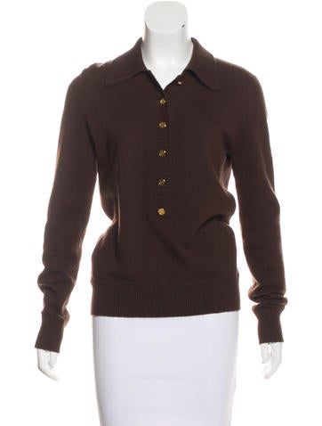 Tory Burch Cashmere Knit Sweater None