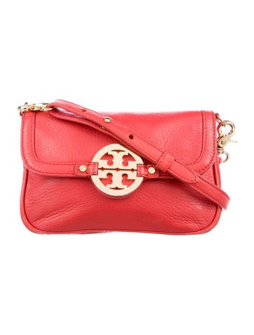 Tory Burch Grained Leather Crossbody Bag None