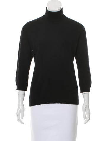Tory Burch Cashmere Mock Neck Sweater None