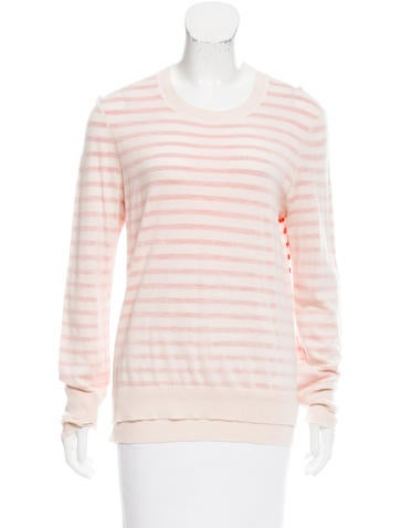 Tory Burch Long Sleeve Wool Top None