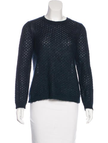 Tory Burch Mohair Knit Sweater None