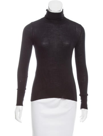 Tory Burch Wool Turtleneck Top None
