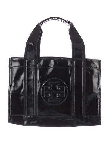 Tory Burch Patent Leather Tory Tote None
