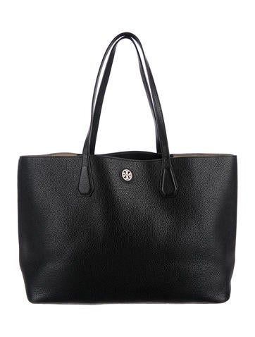 Tory Burch Perry Leather Tote None