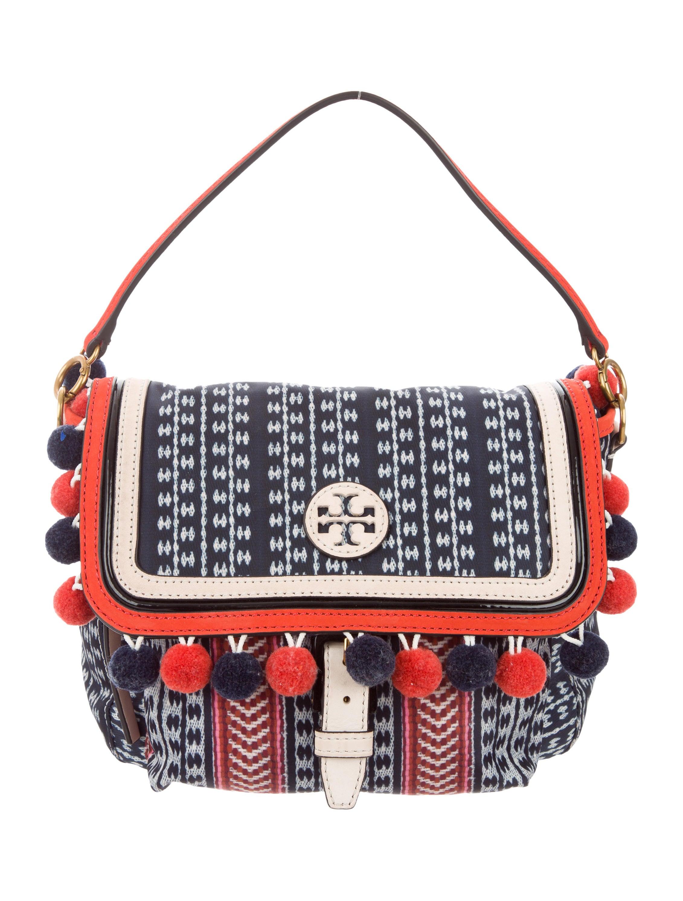 647a094bcb29 Tory Burch Scout Pom-Pom Crossbody Bag - Handbags - WTO113442