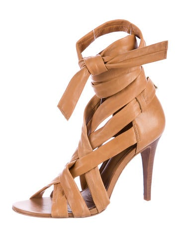 Tory Burch Leather Wrap-Around Sandals outlet eastbay shopping online for sale 6rXvuhlv1V