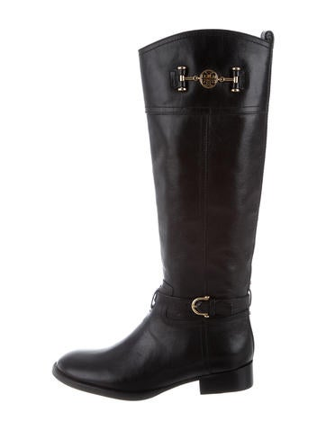 Tory Burch Leather Knee-High None