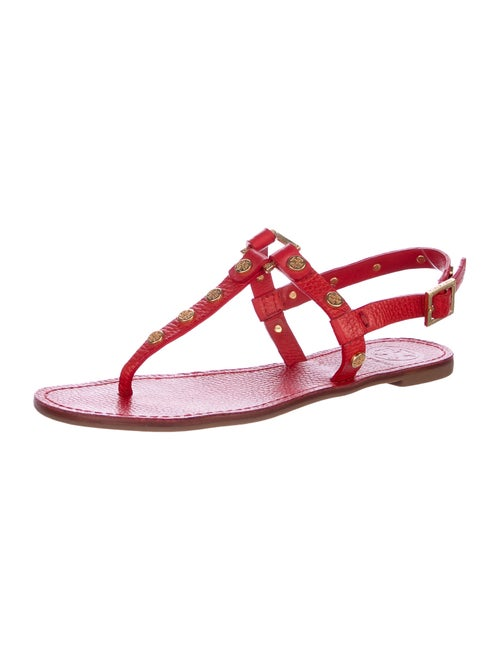 b41e6a9eb0eed9 Tory Burch Marge Studded T-Strap Sandals - Shoes - WTO113872