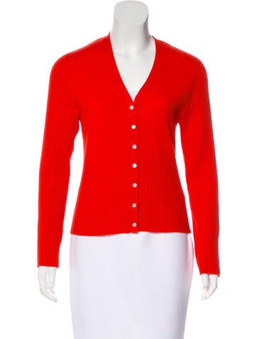 Tory Burch Cashmere Knit Cardigan None