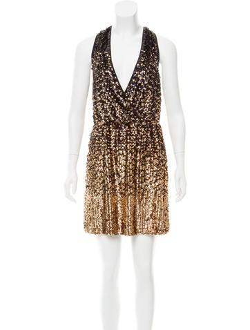 Tory Burch Embellished Mini Dress None